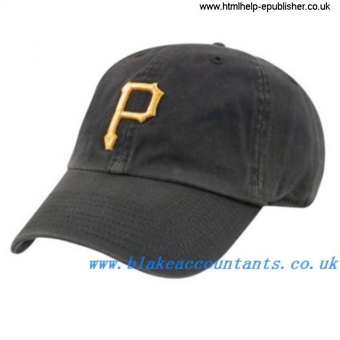 Womens Pirates Franchiseby 47 Brand Fad Caps Baseball - BLACK K2L15070617075 ACEKTV2359